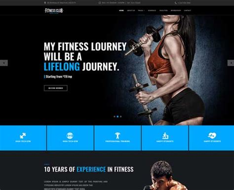 bootstrap themes gym 161 simple bootstrap html templates bootstrap 4 themes