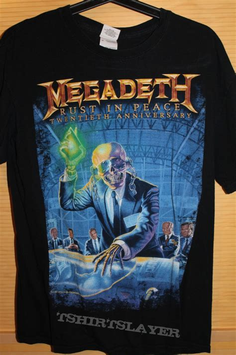 Megadeth Sweaters megadeth rust in peace anniversary tour tshirtslayer