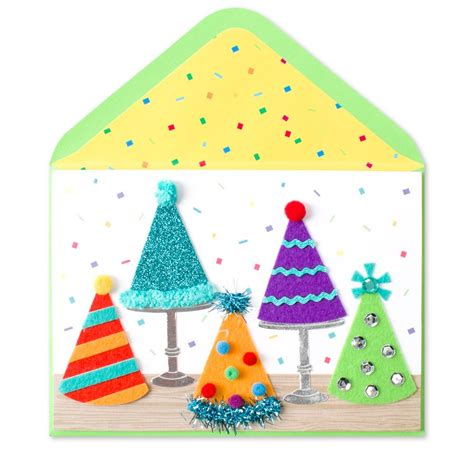 Papyrus Birthday Cards For Him 5 Party Hats Birthday Cards Papyrus