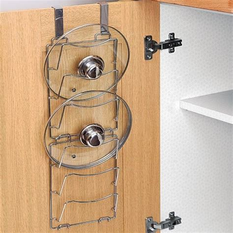 Saucepan Lid Storage Door Lid Storage Pan Lid Storage Rack X 2 Kitchen