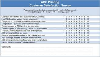 Customer Service Survey Questions Template by Customer Satisfaction Questionnaire Template The