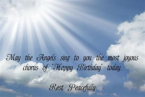 Happy Birthday To In Heaven Quotes Birthday Quotes For Husband In Heaven Image Quotes At