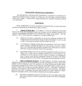 severance agreement template 10 separation agreement templates free sle exle