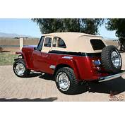 WILLYS JEEPSTER 1951 Professional Restoration For Sale