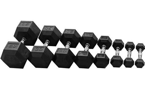 Dumbell Hexagonal Rubber Hex Dumbbells Rdch Orbit Fitness