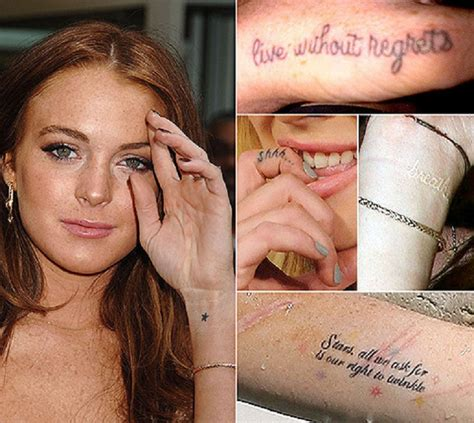 top celebrity tattoos top 10 female celebrity tattoos top inspired