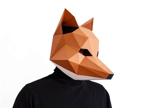 printable masking paper diy paper polygonal masks you can make in time for
