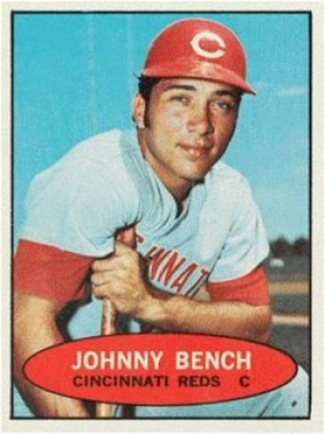 johnny bench nickname 1971 bazooka unnumbered johnny bench 4 baseball card