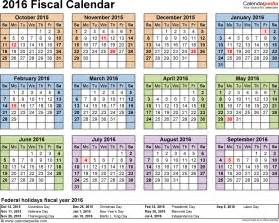 financial year calendar template fiscal calendars 2016 as free printable pdf templates