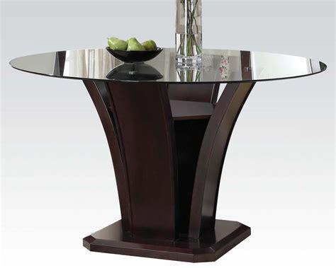 Malik Furniture 54in dining table malik by acme furniture ac70500