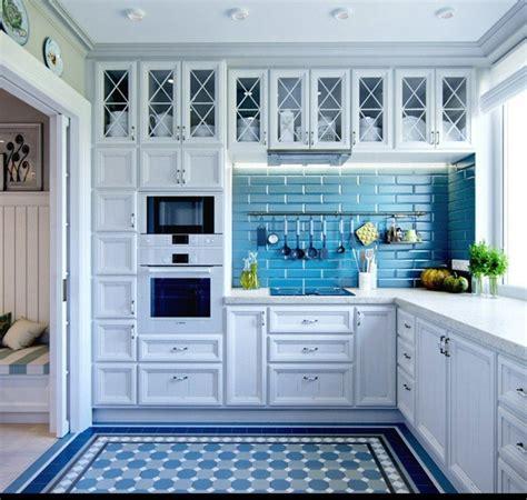 mas de  fotos de cocinas azules decoracion muebles  electrodomesticos espaciohogarcom