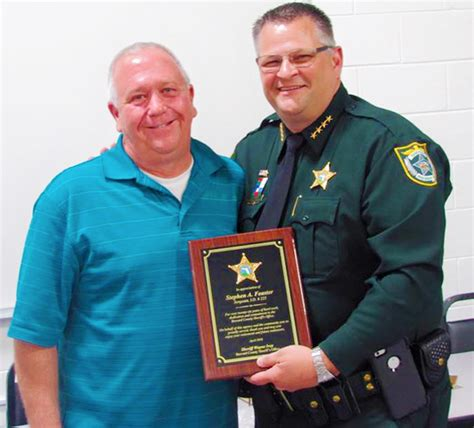 Brevard County Sheriff Office by Bcso Sergeant Steve Feaster Retires After Serving Brevard