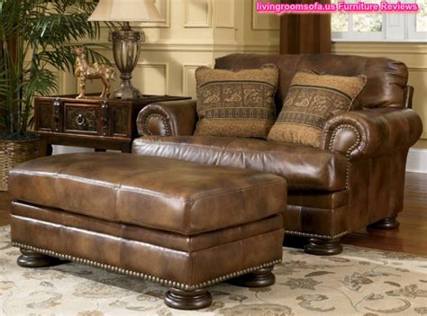 Leather Lounge Chair And Ottoman Design Ideas Chic Furniture Brown Sofa Classic Brown Leather Sofa And Ottoman Furniture