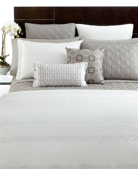 hotel collection comforter cover closeout hotel collection woven pleats full queen duvet cover