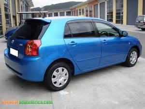 Used Cars For Sale R30 000 Cape Town 2005 Toyota Runx Blue Used Car For Sale In Cape Town