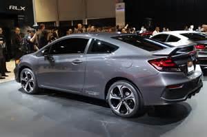 modified 2014 honda civic coupes hit 2013 sema show