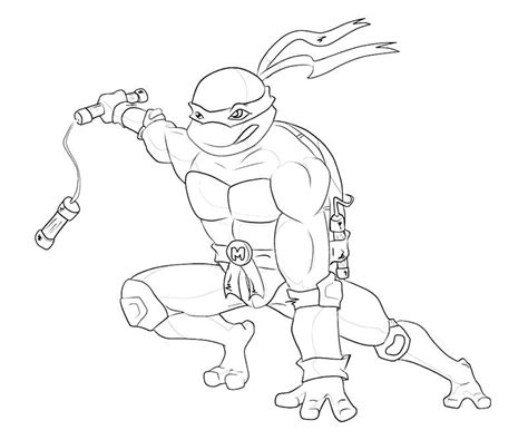 Free Coloring Pages Of Pizza Ninja Turtle Michelangelo Coloring Pages