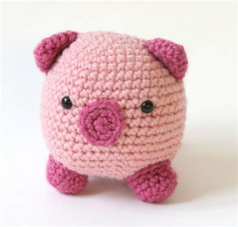 pattern amigurumi pig free crochet animal patterns crochet learn how to crochet