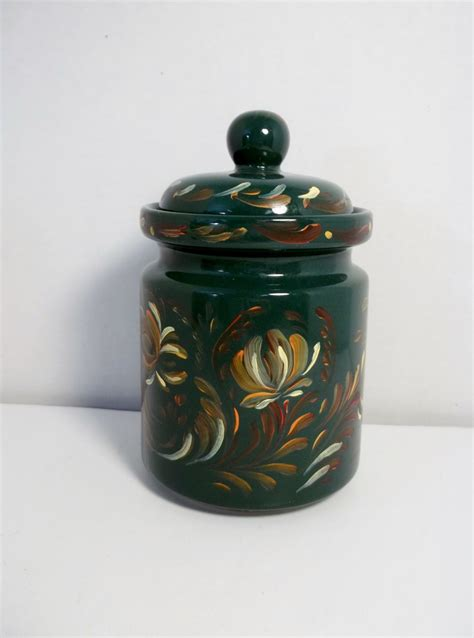 kitchen canisters green kitchen canister green ceramic stoneware jar kitchen