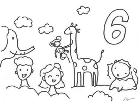 Day 7 Coloring Page by Creation Coloring Pages