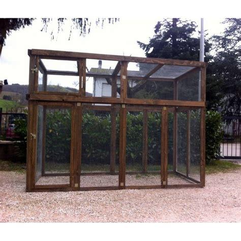 voliere da giardino voliere in legno da esterno pannelli termoisolanti