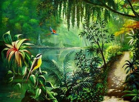 jungle painting acrylic painting into the jungle gomezarts