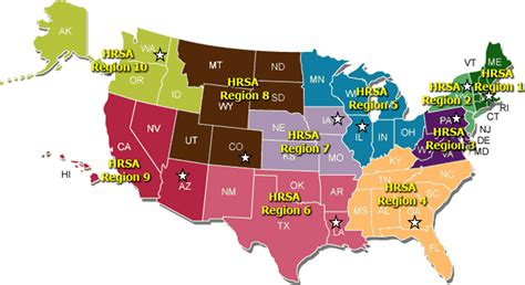 map usa regions health learning network new health