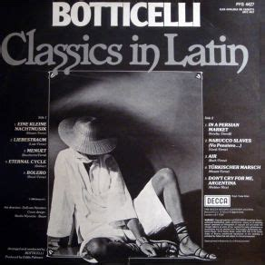 spanish ballads hispanic classics classics in latin botticelli and his orchestra mp3 buy full tracklist