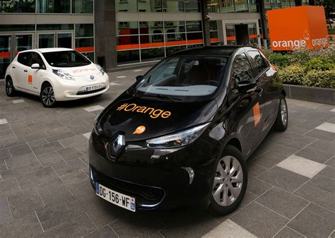 nissan renault renault nissan alliance and orange expand electric vehicle