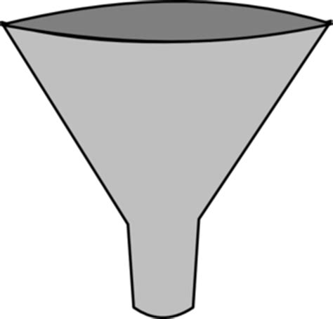 funnel clipart simple funnel clip at clker vector clip