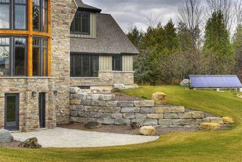 armour stone retaining walls schuts