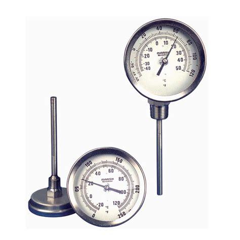 Termometer Bimetal marsh bimetal thermometers wilsherco inc