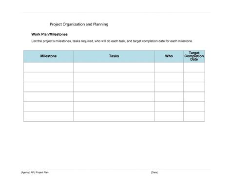 project planning template pdf 48 professional project plan templates excel word pdf