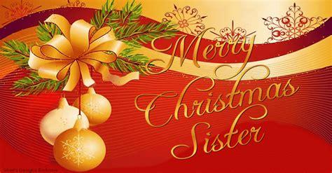 merry christmas sister