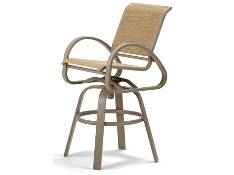 sling bar stools telescope casual aruba ii sling aluminum bar stool 7a90