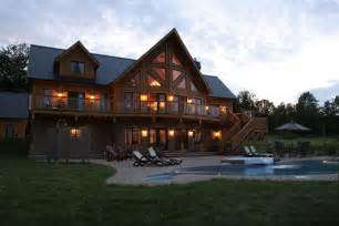 timber homes timber block insulated log homes exceeds the building
