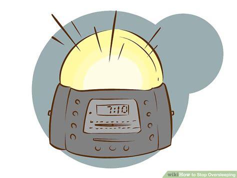 graduating light alarm clock 4 ways to stop oversleeping wikihow