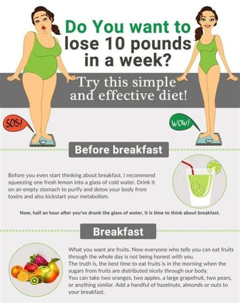 Detox Diet To Lose 10 Pounds In 2 Weeks by 3 Week Kick Start Diet