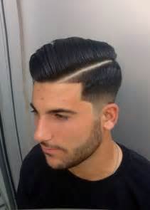 mens haircut with line side part love this look haircut pinterest