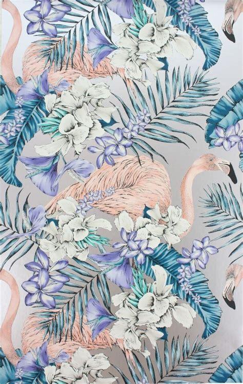 flamingo wallpaper matthew williamson matthew williamson flamingo club wallpaper from rockett