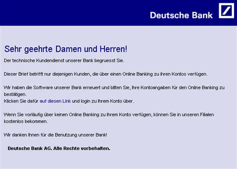 deutsche bank email id tu berlin hoax info blatt identity theft