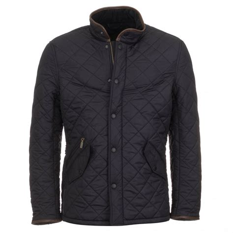 Barbour Quilted Jackets by Barbour S Powell Quilted Jacket Navy Free Shipping