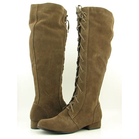 restricted paratrooper brown boots shoes womens sz 6 5