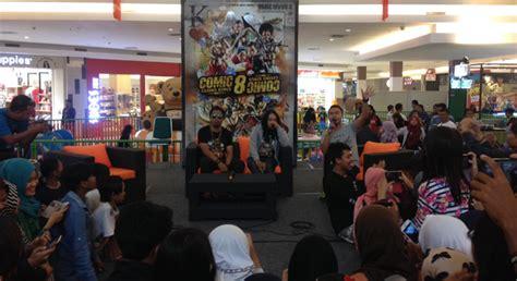 film bioskop terbaru grage mall cirebon serunya meet and greet film comic 8 di grage city mall