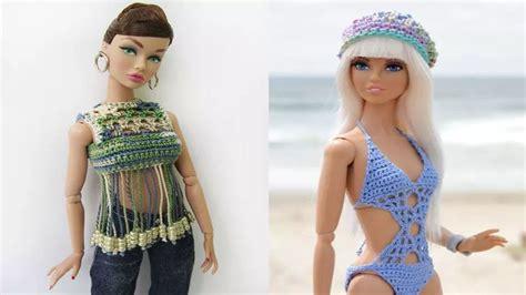ropa echa en crochet ropa barbie crochet tejidos a crochet youtube