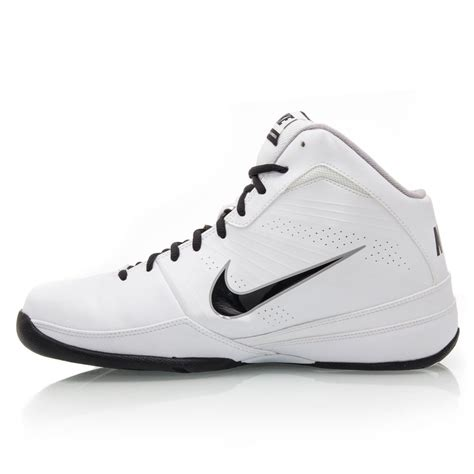 nike and white basketball shoes nike air handle mens basketball shoes white