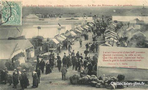 Sainte Croix Lessay 2014 by Cpa 50 Quot Lessay La Foire Sainte Croix La Rue Des R 244 Tisseurs Et Vue G 233 N 233 Rale Quot 50