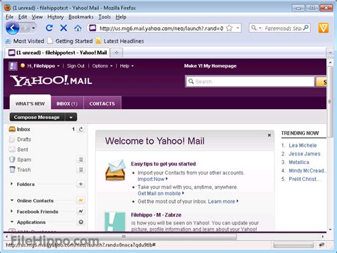 Yahoo Free Email Search Sign Up For Yahoo Mail Filehippo