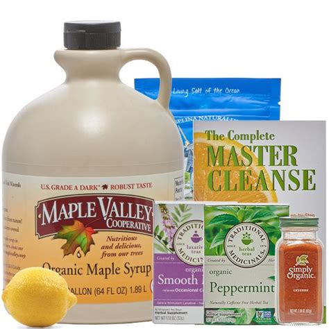 Master Cleanse Detox Recipe by 43 Best Maple Valley Cooperative Products Images On