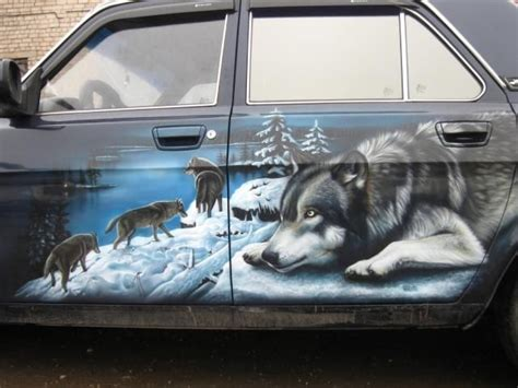 Wolf Auto by 17 Best Images About Airbrush Cars Trucks On